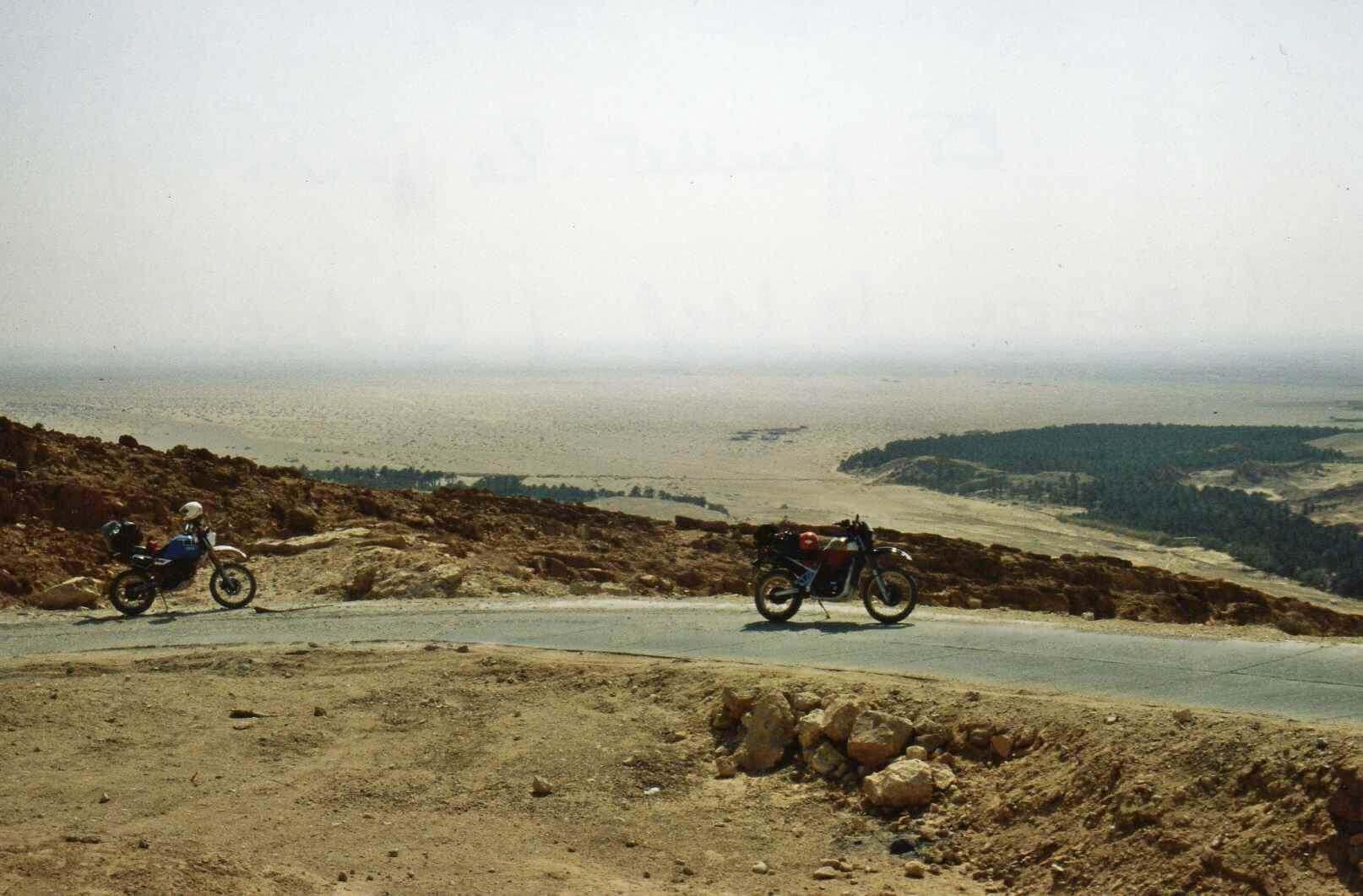 Raid moto 4x4 Tunisie Wild Spot El Kef Chebika - Oasis Chebika