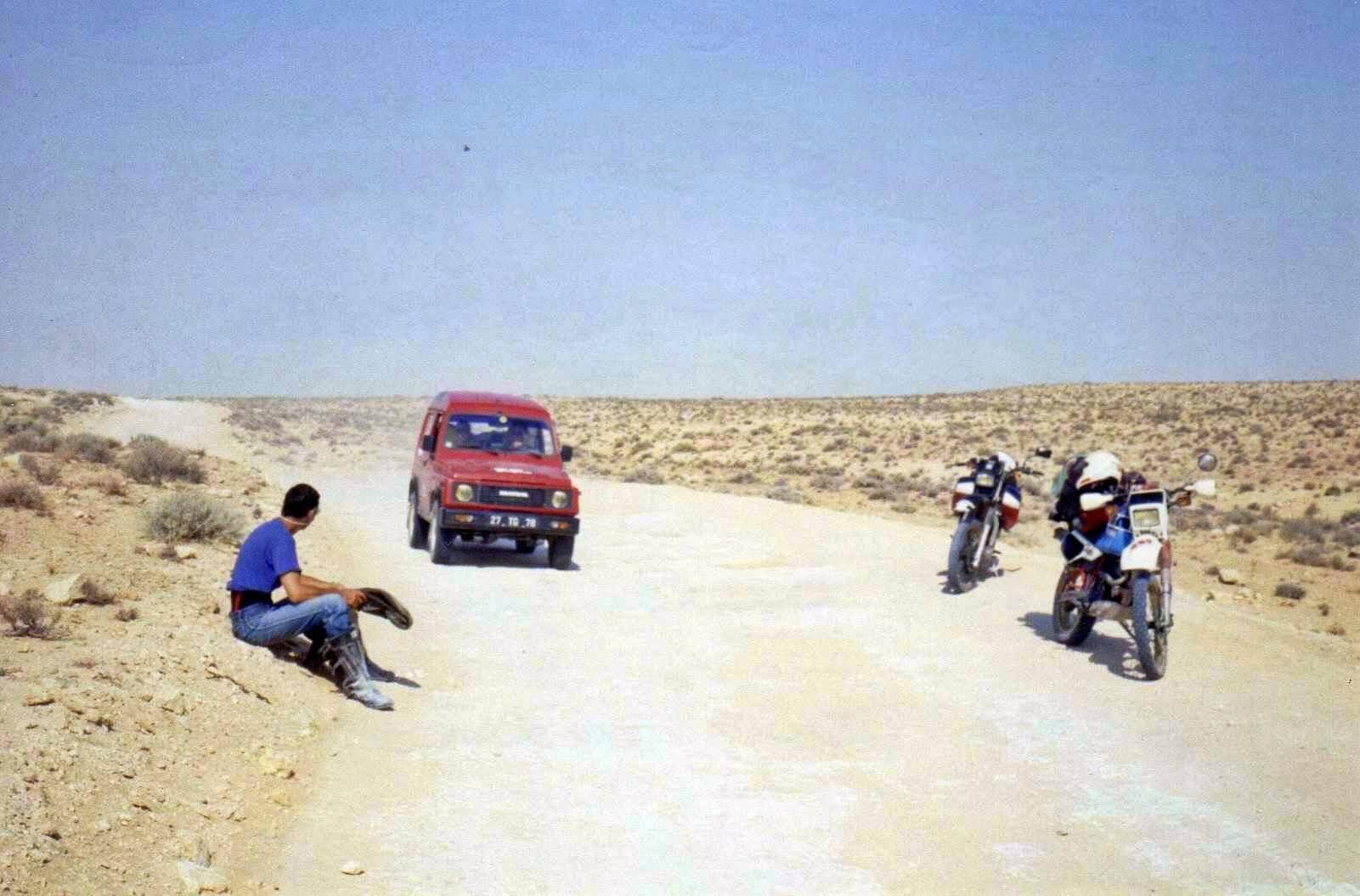 Raid moto 4x4 Tunisie Wild Spot Chebika Gafsa