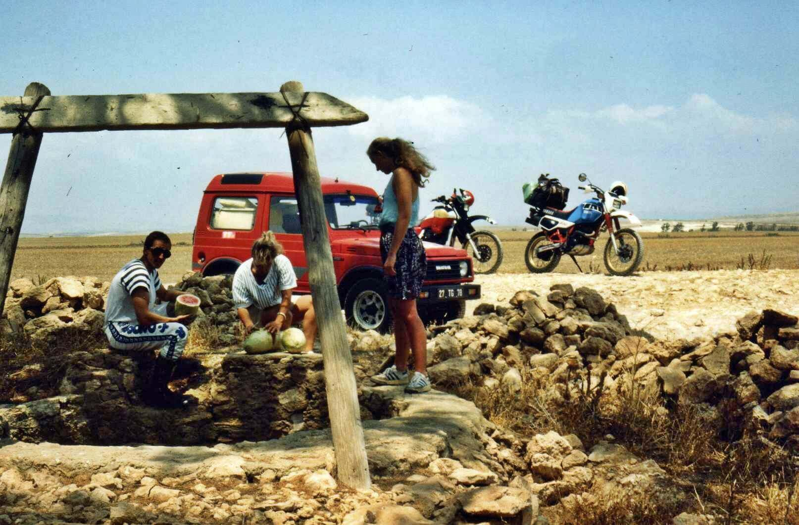 Raid moto 4x4 Tunisie Tunis Djerba Wild Spot