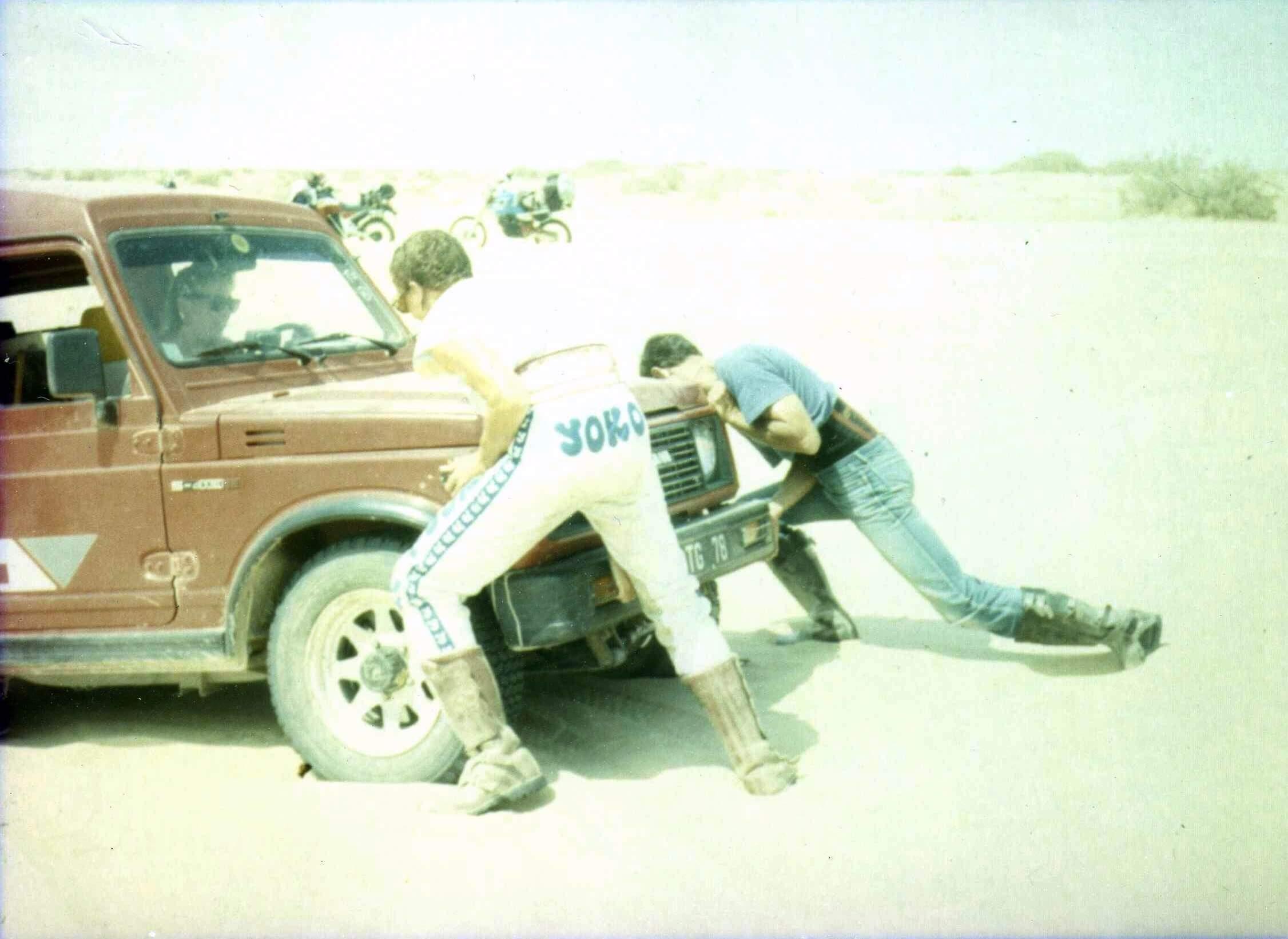 Raid moto 4x4 Tunisie Wild Spot El Faouar Gabes