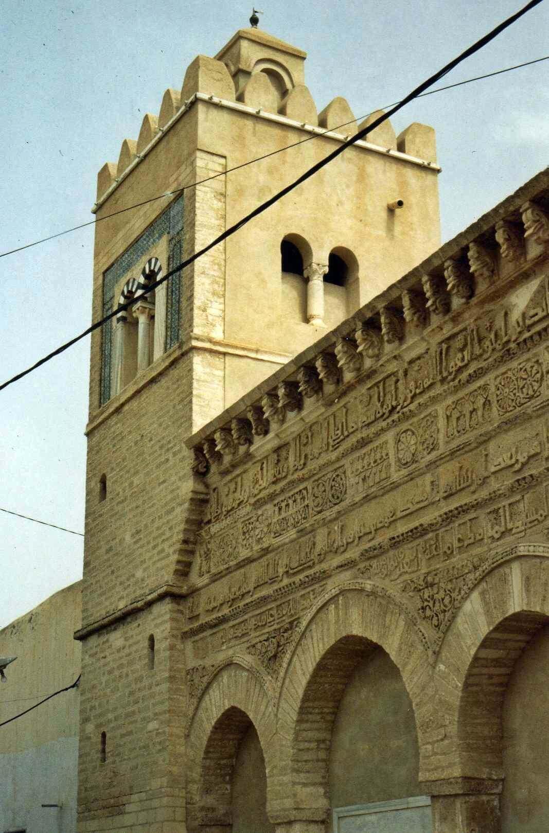Raid moto 4x4 Tunisie Wild Spot Zarzis Kairouan mosquée