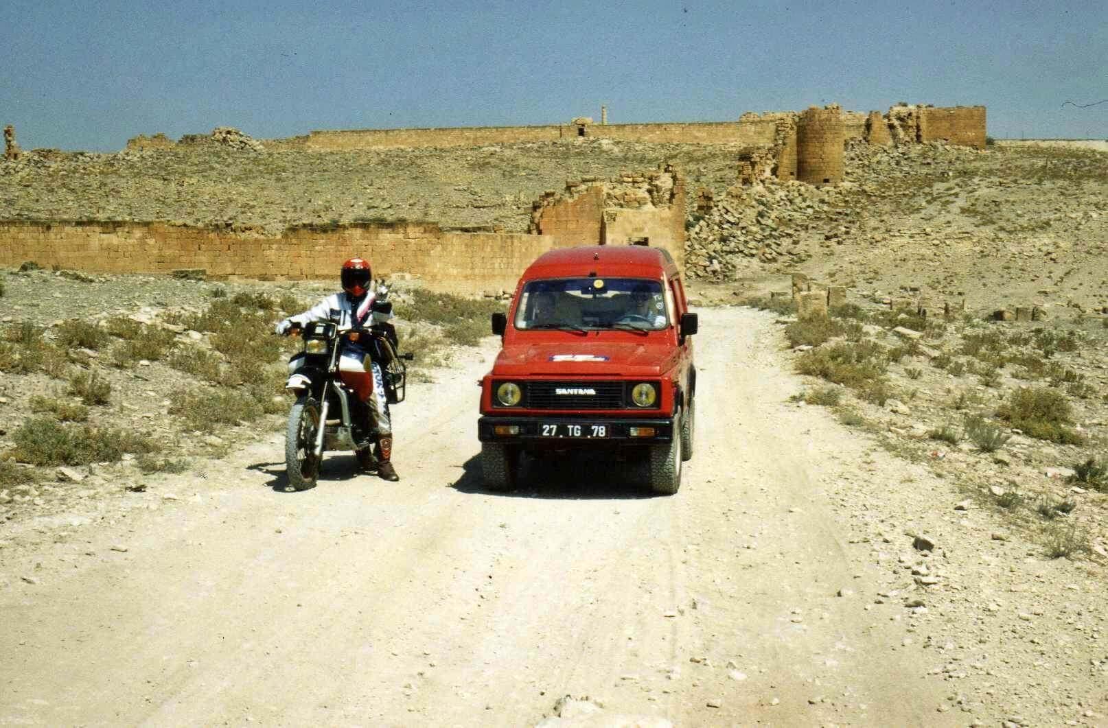 Raid moto 4x4 Tunisie Wild Spot El Kef Chebika - Ruines Haidra
