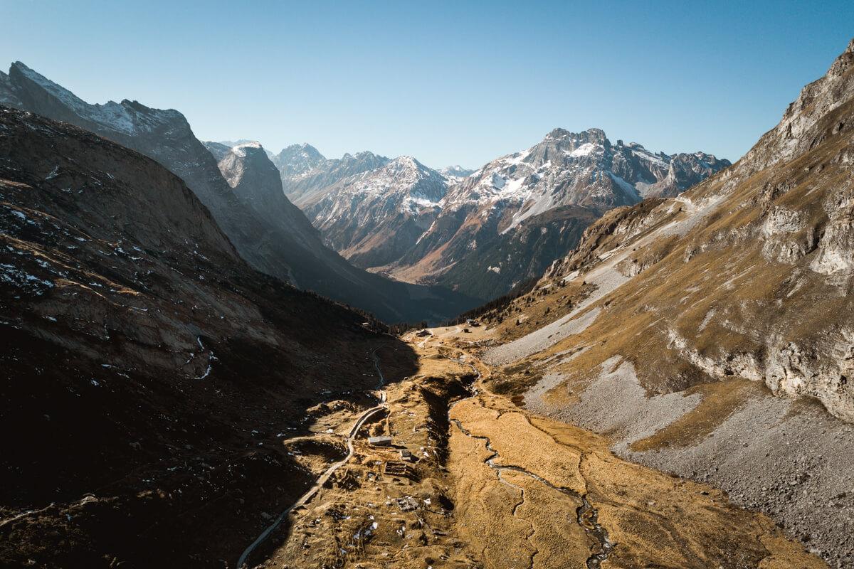 Col de la Vanoise Pralognan Wild Spot randonnée