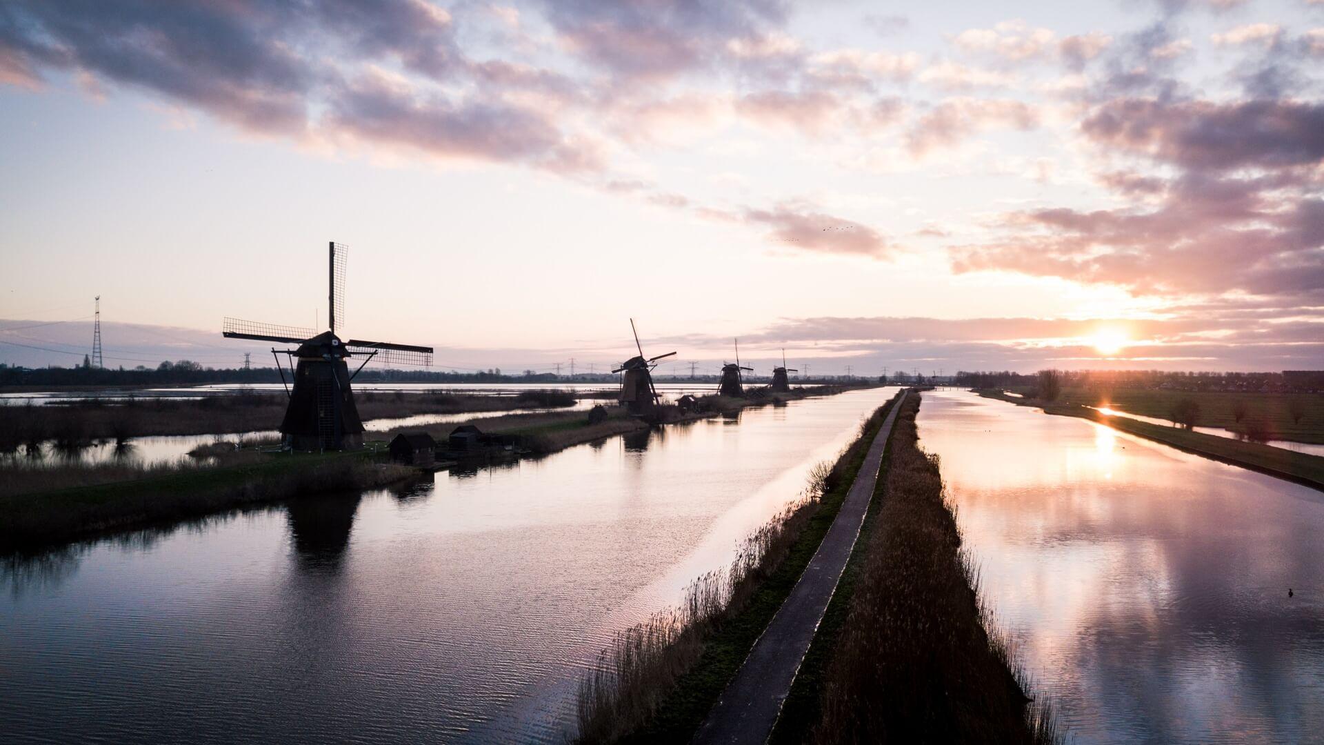 Kinderdijk spot photo WildSpot