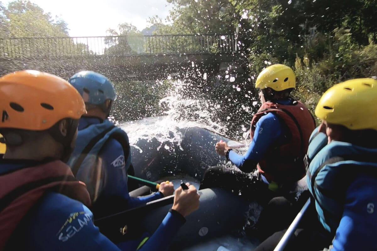 Ecrins no limit rafting wildspot