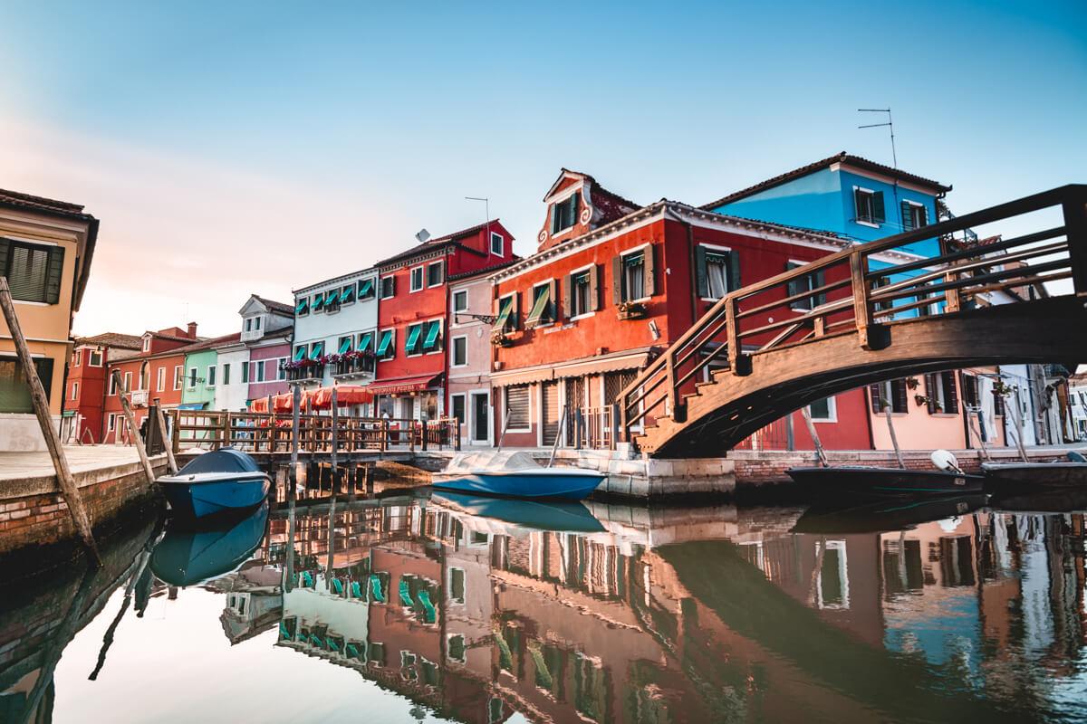 Ile Burano Venise Italie Wild Spot