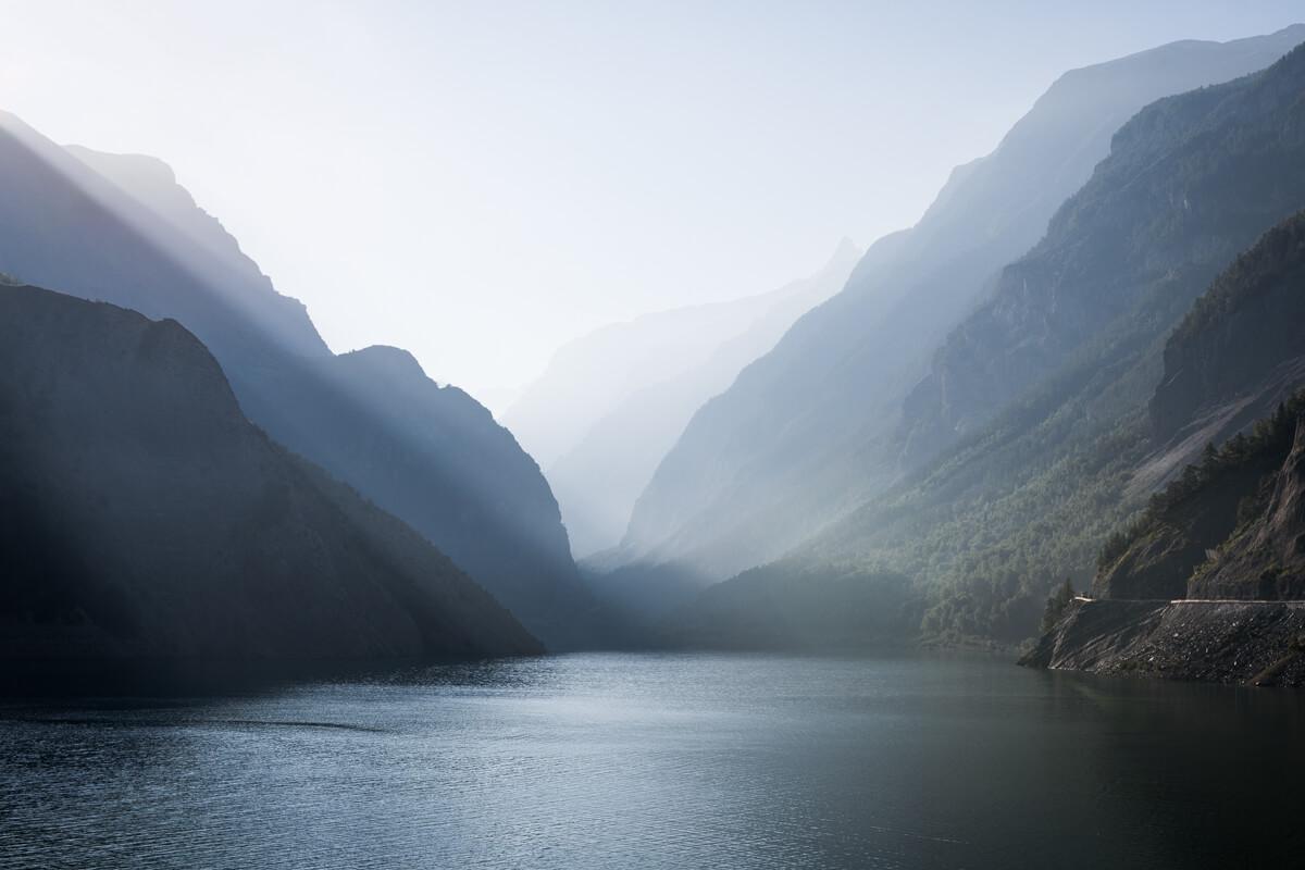Trip photo Écrins Hautes Vallées barrage Chambon Romanche