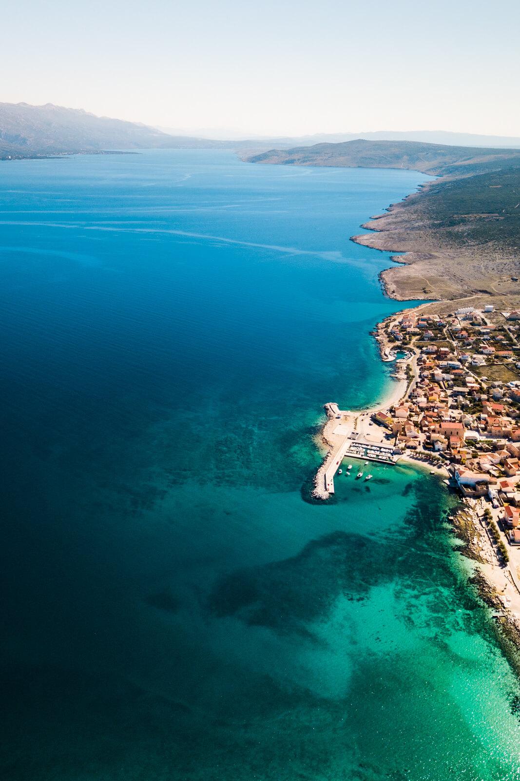Zadar Ile de Pag Omis Trip Photo Croatie