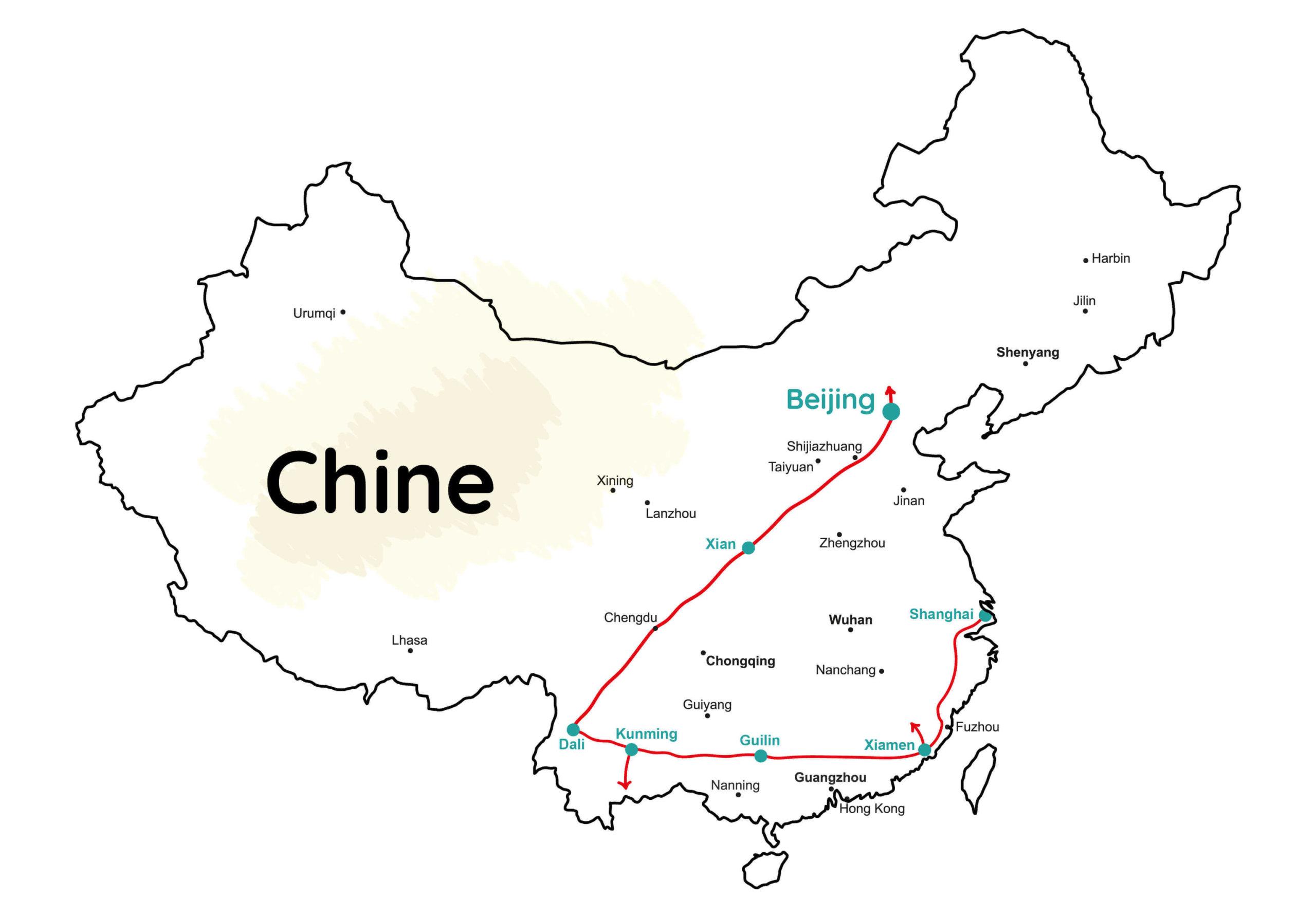 Chine backpack trip sac à dos Wild Spot