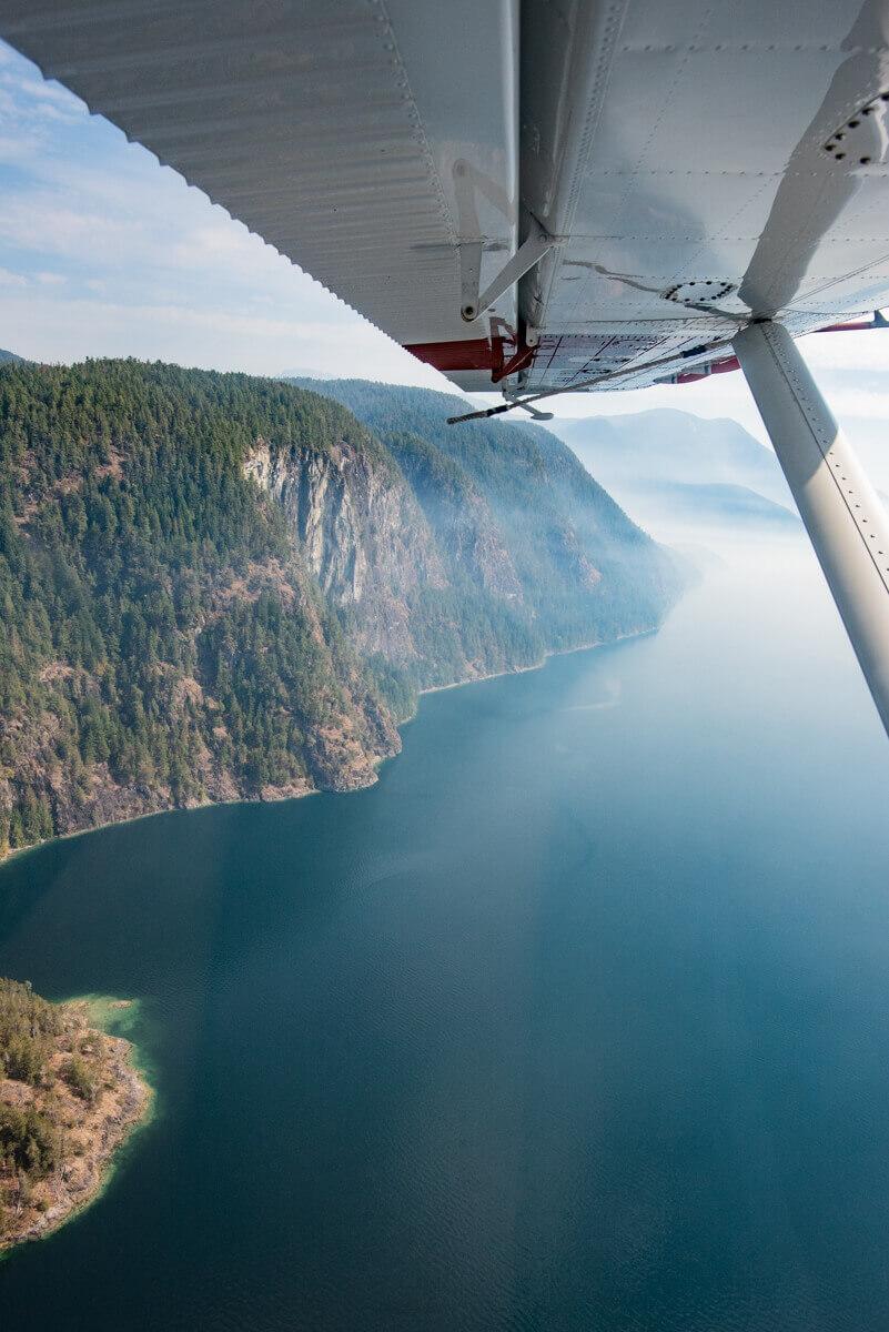 Livraison courrier hydravion Canada Thibault Larcher Wild Spot