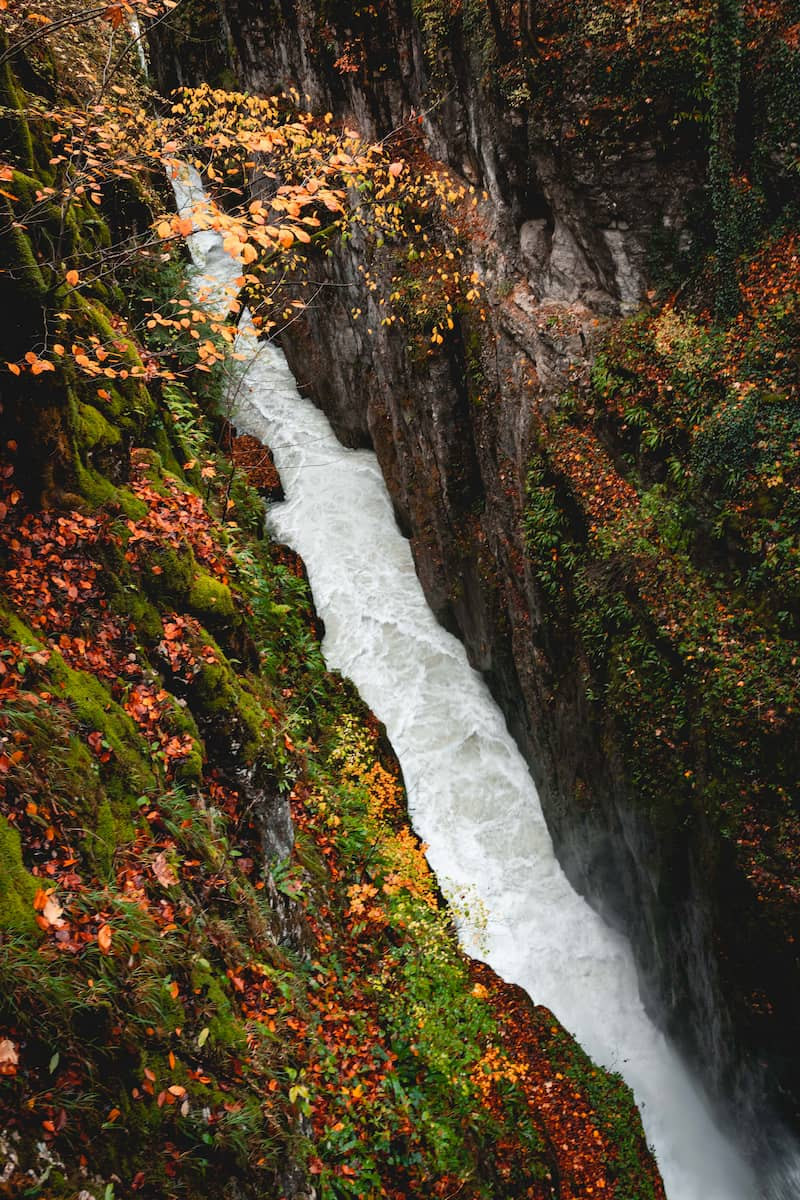 gorges de la langouette lieux à voir dans le haut jura en automne week-end wildspot
