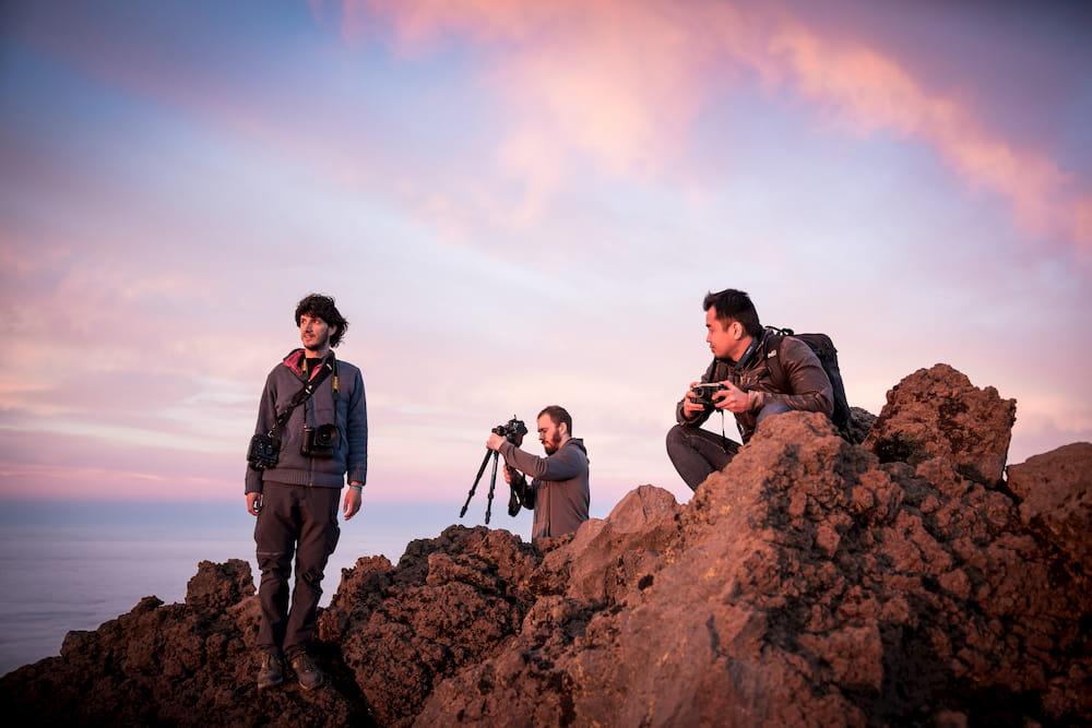 workshop trip atelier photo Canaries La Palma Wildspot