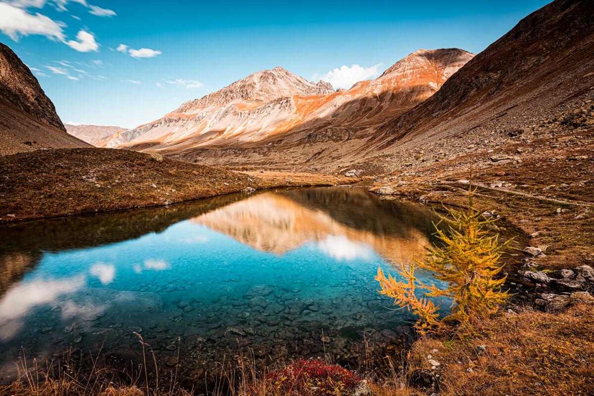 plateau emparis écrins sources romanches automne La Grave Meije Hautes Alpes Wild Spot Romain Cravero
