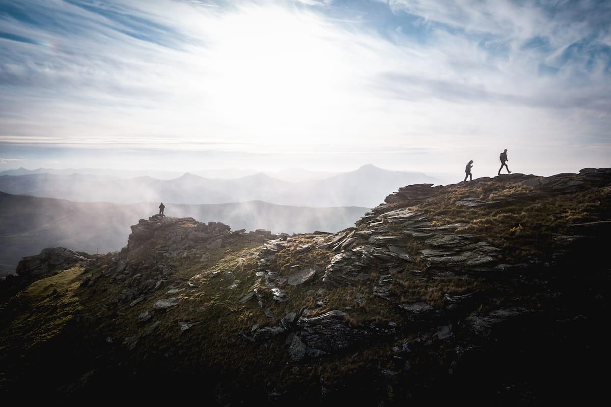Photographie coucher de soleil Sommet Artzamendi Pays Basque Itxassou Wild Spot