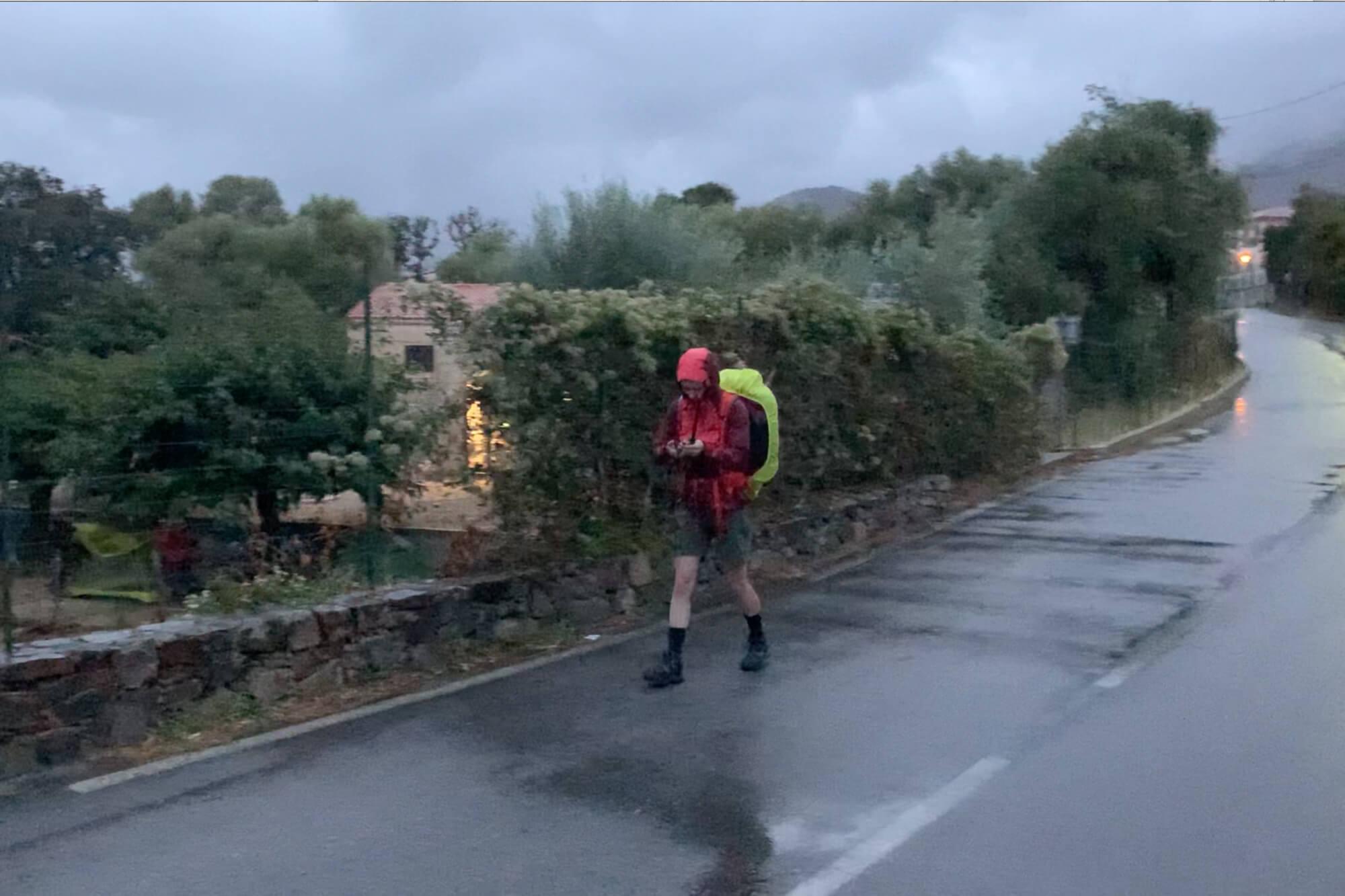 GR20 Corse grande randonnée autonomie aventure Arthur Barrow Wild Spot